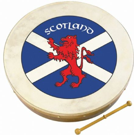 "Waltons 18"" Scottish Flag Bodhran"